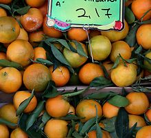 Greek Oranges by Leah Gay