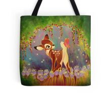 The Fawn and the Butterfly Tote Bag