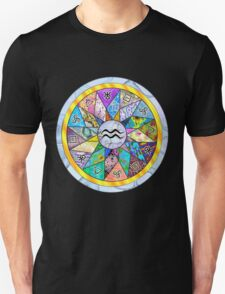AQUARIUS Tapestry of Life Mandala T-Shirt