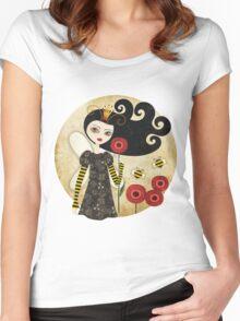 Queen Beatrix Women's Fitted Scoop T-Shirt