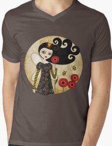 Queen Beatrix Mens V-Neck T-Shirt