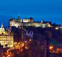 Edinburgh At Dusk by Don Alexander Lumsden (Echo7)