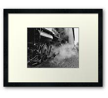 Steamed Framed Print