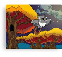 Whooo Pop Art Owl Canvas Print