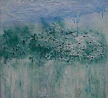 High Key Landscape by Christine Clarke