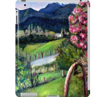 Pretty Bridge Valley Road iPad Case/Skin