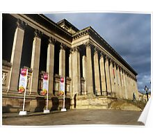 St Georges Hall, Liverpool Poster