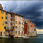 Rovign, Croatia approaching storm by Eros Fiacconi (Sooboy)