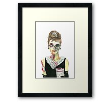 Zombies at Tiffany's Framed Print