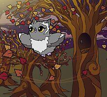 Autumn Owl by Ryan Rydalch