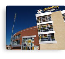 Isotopes Park Canvas Print