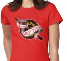Red Jenny Womens Fitted T-Shirt