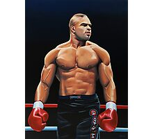 Alistair Overeem painting Photographic Print