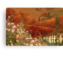 Landscape myth Canvas Print