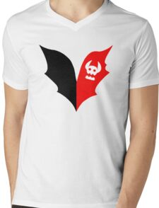HTTYD Toothless Tail Heart Mens V-Neck T-Shirt