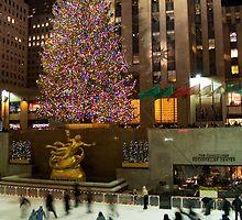 Holidays Rockefeller Center by andykazie