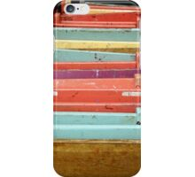 Colorful Folding Pastel Chairs iPhone Case/Skin