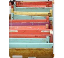 Colorful Folding Pastel Chairs iPad Case/Skin