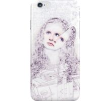 The Girl Who Had Her Hair Caught inside Machinary. iPhone Case/Skin