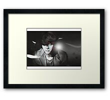 Beautiful Liar Framed Print