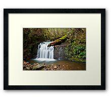 Strickland Falls, South Hobart Framed Print