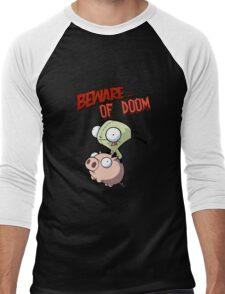 Gir Beware of DOOM Men's Baseball ¾ T-Shirt