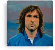 Andrea Pirlo painting Canvas Print