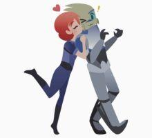 Mass Effect - Shakarian Surprise [Commission] Kids Tee