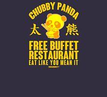 Chubby Panda Restaurant Unisex T-Shirt