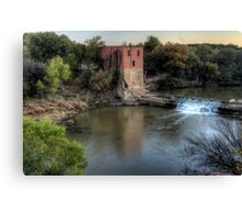 The Eliasville Mill Canvas Print