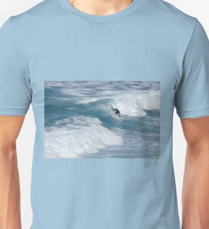 Surfing at Tamarama Unisex T-Shirt