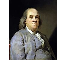 Benjamin Franklin Photographic Print