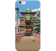 Spirited Away 8bit iPhone Case/Skin