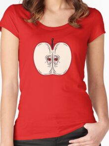 Anxiety Apple Women's Fitted Scoop T-Shirt