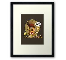 Gentlemon: Rai say! Framed Print
