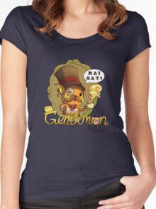 Gentlemon: Rai say! Women's Fitted Scoop T-Shirt