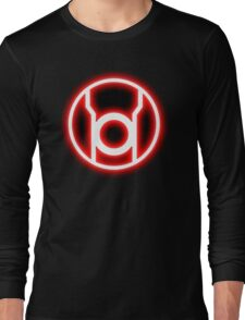 RED LANTERN - RAGE! Long Sleeve T-Shirt