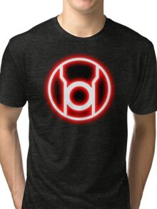 RED LANTERN - RAGE! Tri-blend T-Shirt