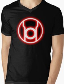 RED LANTERN - RAGE! Mens V-Neck T-Shirt