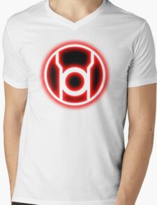 RED LANTERN - RAGE! Mens V-Neck T-Shirt
