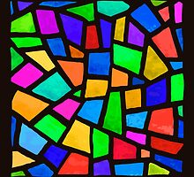 Stained-glass window. by NastyaSigne