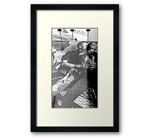 """street walk #30  -     """"women betrayed"""" Framed Print"""