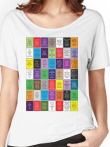 Fall Out Boy Lyric Montage Women's Relaxed Fit T-Shirt