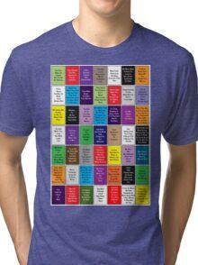 Fall Out Boy Lyric Montage Tri-blend T-Shirt