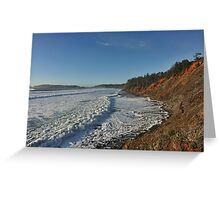 A Foamy Frothy Sea Greeting Card