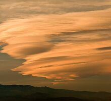 Waves Of Gold - Sunset Over The Plains by Gregory J Summers