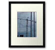 Denver Reflections Framed Print
