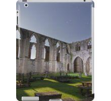 Bolton Abbey under a Moonlit Night iPad Case/Skin