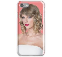 Taylor Swift Pink Red iPhone Case/Skin