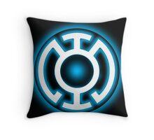 Blue Lantern - HOPE! Throw Pillow